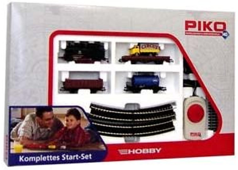 Piko 57111 - H0 Start-Set Güterzug mit Dampflok