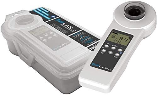 EW24 Special Edition: 13 in 1 Pool Lab 1.0 elektronischer Wassertester mit 70 Testtabletten Bluetooth fähig