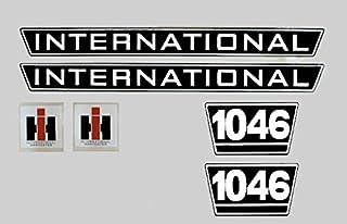IHC Aufkleber Motorhaube 1046