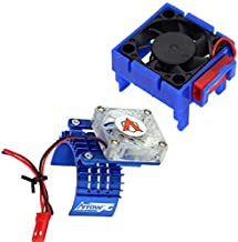 Powerhobby Cooling Fan for Traxxas Velineon VXl-3 ESC + 540 Heatsink Motor Fan Blue Fits : Slash Stampede 2WD RUSTLER Bandit VXL