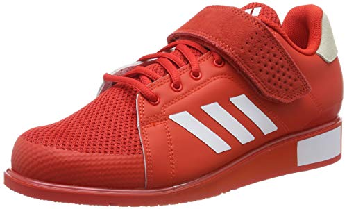 adidas Men's Power Perfect Iii. Fitness Shoes, Red (Active Red/FTWR White/Active Red Active Red/FTWR White/Active Red), 9.5 UK