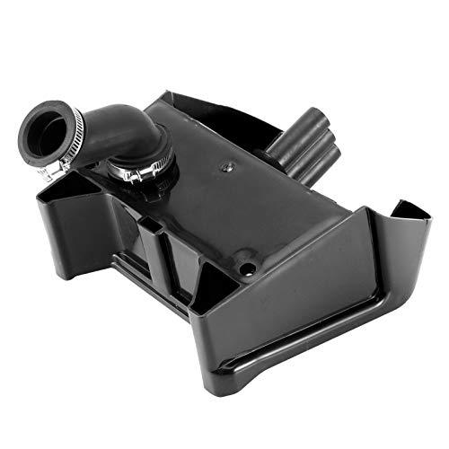 Filtro de la caja de admisión de aire, conjunto del limpiador de filtros, ajuste de las piezas de ATV negro de la admisión de aire de la caja del filtro, montaje más limpio para el kit de