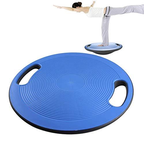 Scheda del bilancio swing, un allenatore di equilibrio e stabilità con una maniglia portatile e una superficie irregolare, allenamento bilanciamento ed esercizio fisico per uomini e donne, 15.7in