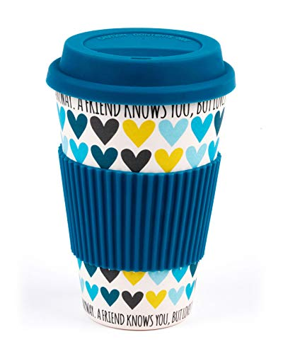 Cambridge® CM05510 A Friend Loves You Heart Reusable Travel Mug