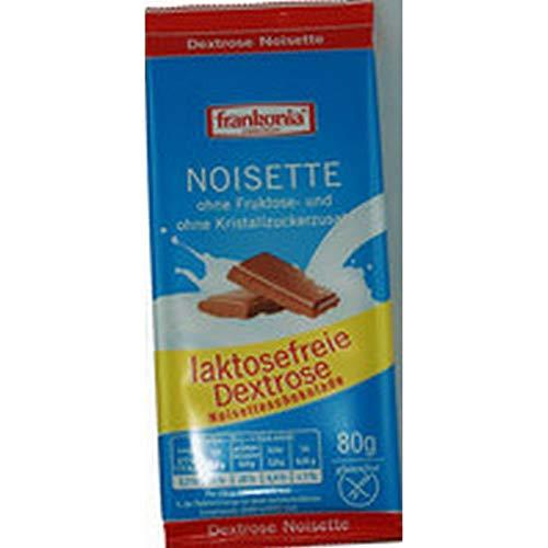 Frankonia Dextrose Schokolade Noisette 10 x 80g