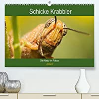 Schicke Krabbler (Premium, hochwertiger DIN A2 Wandkalender 2022, Kunstdruck in Hochglanz): Tauchen Sie ein in die Welt der Insekten (Monatskalender, 14 Seiten )