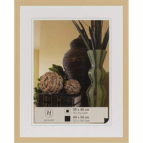 Henzo Artos Bilderrahmen, Holz, Beige, Bildformat 40x50 cm