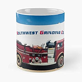 Vintage Fire Engine Pumper American Lafrance - Best Gift Ceramic Coffee Mugs