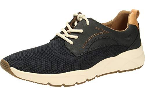 camel active Herren Run 11 Sneaker, Blau (Midnight 1), 44 EU