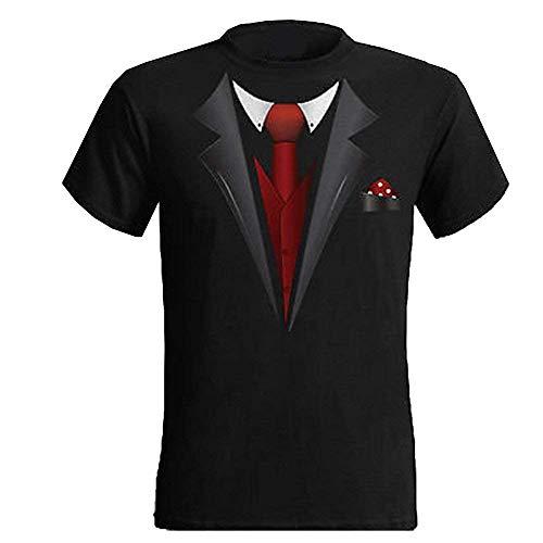 Cool Smoking Hirsch und Junggesellinnenabschied T-Shirt Lustig Smoking T-Shirt Lustiger Spruch Bedrucktes T-Shirt - Schwarz, S