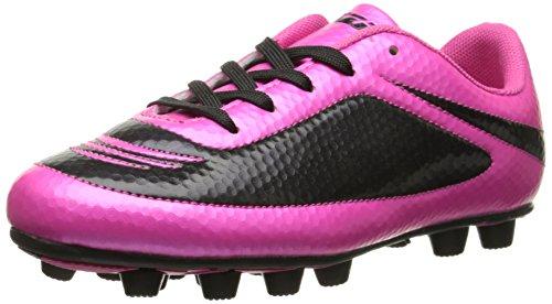 Vizari Youth/Jr Infinity FG Soccer Cleats | Soccer Cleats Boys | Kids Soccer Cleats | Outoor Soccer Shoes Pink/Black