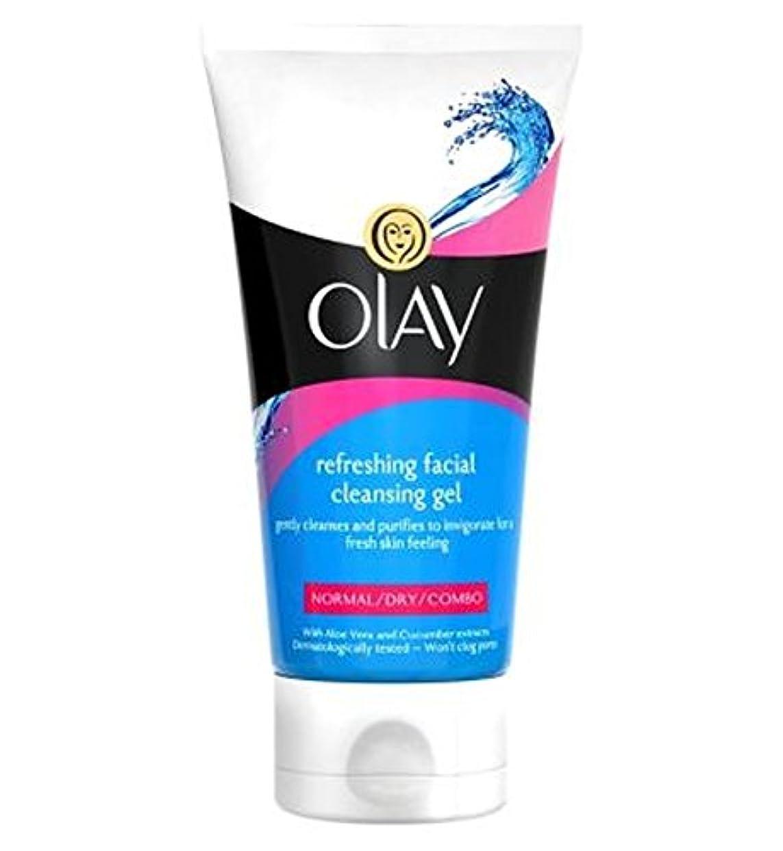 宴会見落とす秘書オーレイさわやかな洗顔ジェル150Ml (Olay) (x2) - Olay Refreshing Facial Cleansing Gel 150ml (Pack of 2) [並行輸入品]