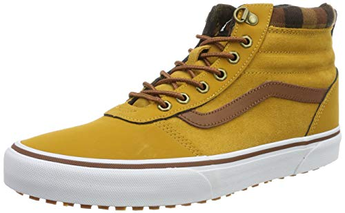 Vans Herren Ward Hi Turnschuh, Beige ((MTE) Honey/Plaid V1u), 43 EU