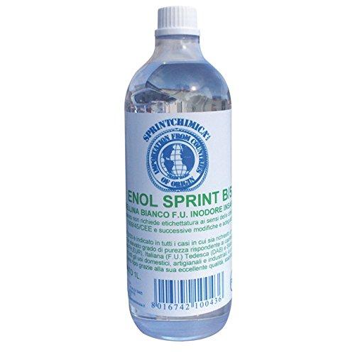 SPRINTCHIMICA, Geruchloses Vaselineöl, farblos, Geschmacklos. Für die önologische Verwendung.