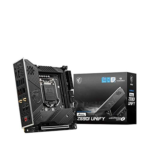 MSI - Meg Z590I Unify Placa Base