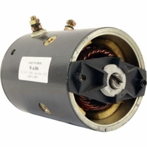 Find Bargain New Snow Plow Motor Replacement For Fisher Western 12 Volt MUE6302