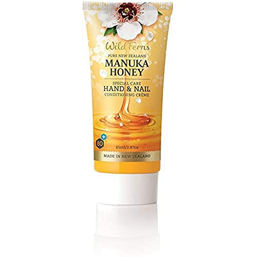 Wild Fern Manuka Honig Hand und Nagelcreme 85ml