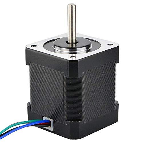Binogram Nema 17 Motor Paso a Paso 48Mm Nema17 Motor 42Bygh 2A 4-Lead (17Hs19-2004S1) Motor 1M Cable para Impresora 3D Cnc Motor