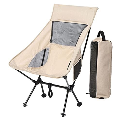 SM SunniMix Silla Plegable de Playa para Acampar con Bolsa de Almacenamiento para conciertos al Aire Libre Festival de Arena de césped