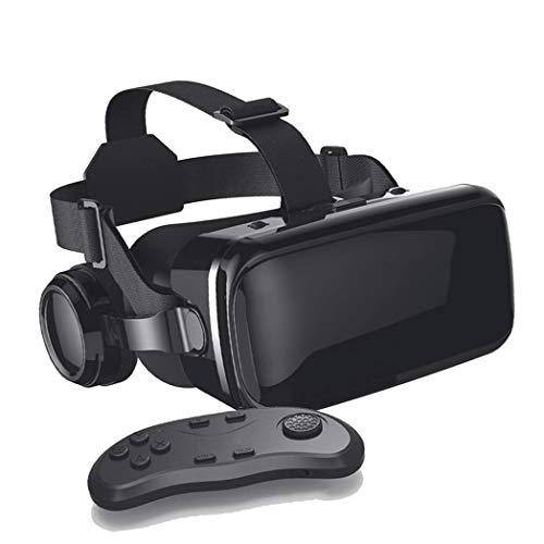 JYMYGS Gafas VR, Gafas de Realidad Virtual, VR Glasses Visión Panorámico 360 Grado Película 3D Juego Immersivo para Móviles 4.0-6.0 Pulgada para iPh X/7/6s 6/Plus, Galaxy s8/ s7, etc. N004JL