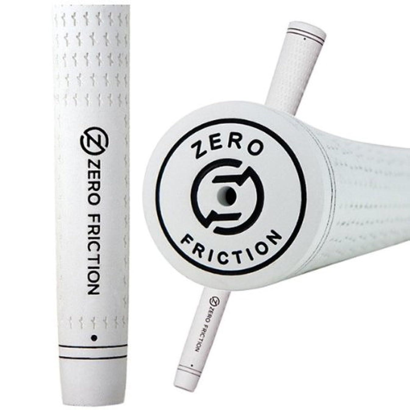 パリティ上へ振動するZero Friction Advantageグリップ(ホワイト、.600?)ゴルフ