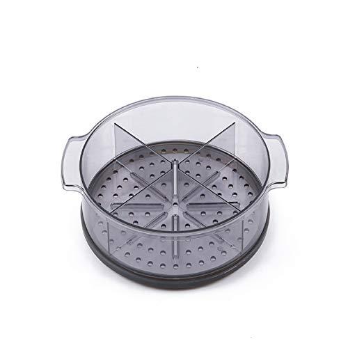 Carote - Amortiguador para utensilios de cocina Carote de 24 cm, PC de calidad alimentaria (policarbonato), divisores ajustables individualmente