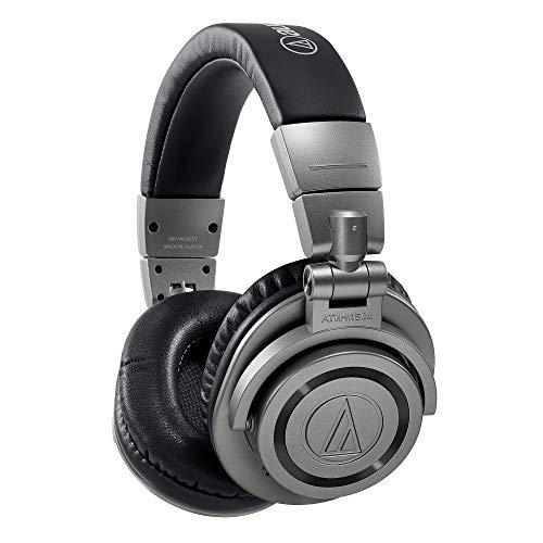 【Amazon.co.jp限定】audio-technica ワイヤレス ヘッドホン ATH-M50xBT GM Bluetooth5.0 aptX・AAC対応 専用ハードケース付属 ガンメタリックグレー