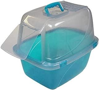 Van Ness Odor Control Large Translucent Enclosed Cat Pan with Odor Door - #CP6TR