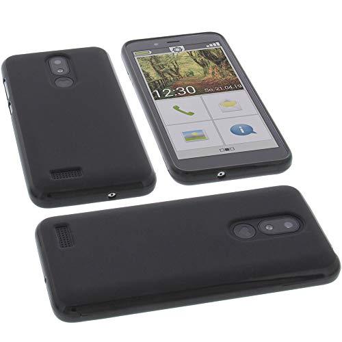 foto-kontor Hülle für Emporia Smart 3 Mini Tasche Gummi TPU Schutz Handytasche schwarz