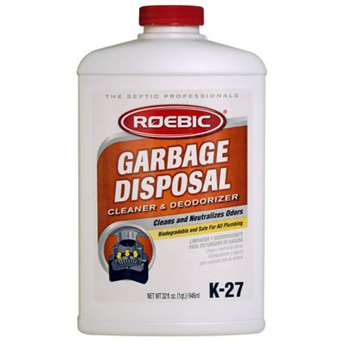Roebic K-27-Q Garbage Disposal Cleaner/Odor Deodorizer, 32Ounce