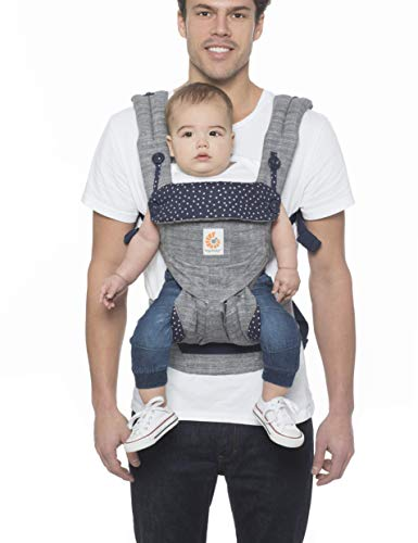 Ergobaby Carrier, 360 All Carry Positions Baby Carrier, Star Dust