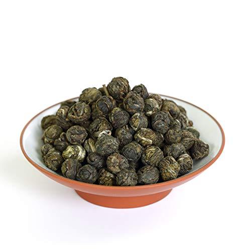 GOARTEA® 250 g (8.8 oz) Organic Premium Jasmine Dragon Pearl Ball Loose Leaf Chinese Green TEA Verde té