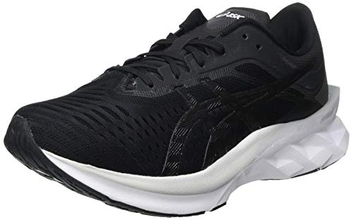 ASICS Herren NOVABLAST Running Shoe, Black Carrier Grey, 44.5 EU