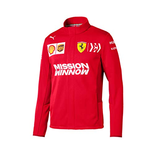 Scuderia Ferrari 2019 Collection F1. Giacca da Uomo in Softshell (S)