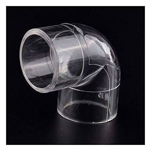 Tubo Acrílico, Acuario, Pecera, Enchufe De Extremo De Junta, Suministro De Agua, Codo, Conector En T, 1 Unidad (Color : 90 Elbow Joint, Size : Diameter 20mm(1pc))