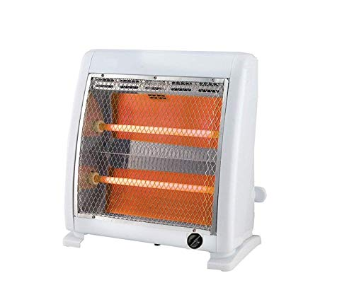 FAVY Laurels 2 ROD HALOGEN HEATER || ISI Approved (IS:368) || 4 Layer Protection To Save Brockage
