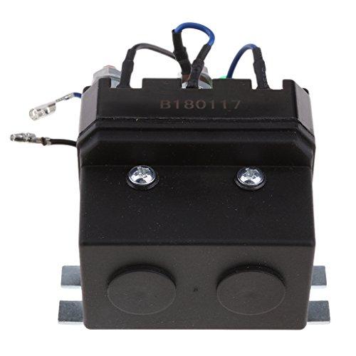 MagiDeal DC 12 Voltios 200 Amps Interruptor de Relé de Solenoide de Motor de Cabrestante para ATV UTV