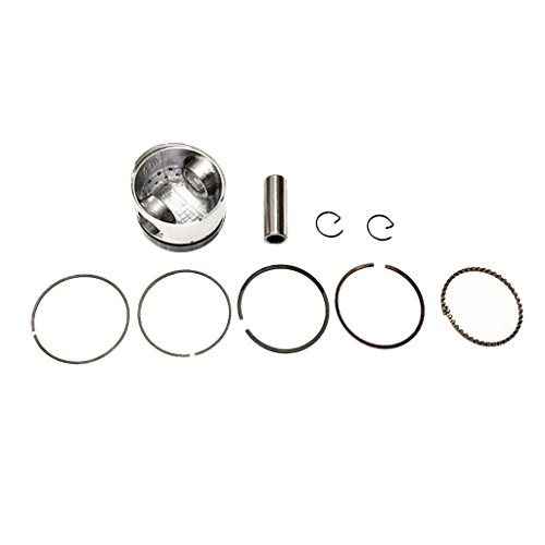 Shiwaki 39mm Piston Rings Kit Set For Scooter Moped 50cc GY6 50 139QMB