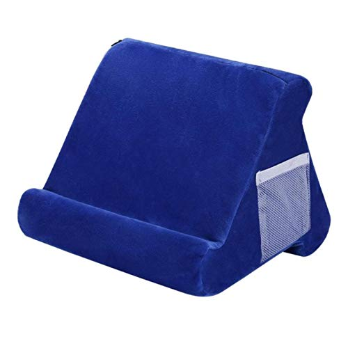UKKD Tablet Stand Multi-Angle Laptop Holder Tablet Bed Soft Sponge Pillow Stand Cushion For Ipad Phone