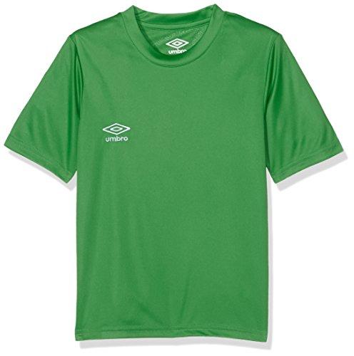 UMBRO Oblivion Jnr Camiseta de fútbol, niño, Verde, 8 años