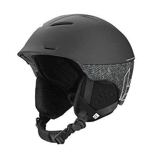 Bollé Synergy Cascos de esquí, Adultos Unisex, Black Matte, 58-61 cm