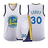 Ropa de baloncesto Kevin Durant Stephen Curry 30 35 Golden State Warriors réplica de baloncesto para hombre, Calle, Hombre, color 1, tamaño L