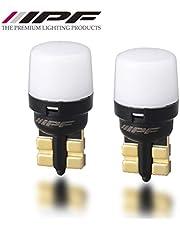 【Amazon.co.jp 限定】M's Basic by IPF ポジションランプ ナンバー灯 LED バルブ T10 6000K 55ルーメン 全方向照射 超拡散角340° AMZ-PL002
