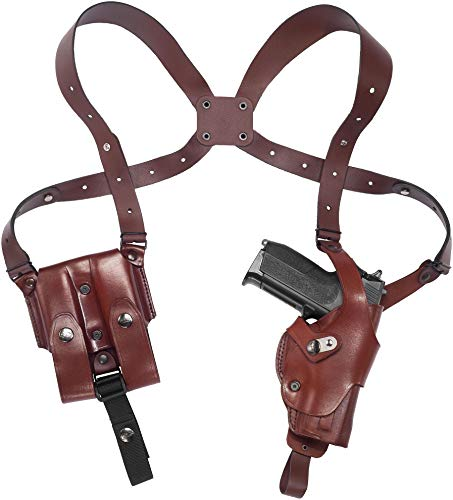 Craft Holsters FN FNS 40 Compatible Holster - Vertical Roto Shoulder Holster System (71/22-MAH)