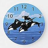 Reloj Orcas sin marca.