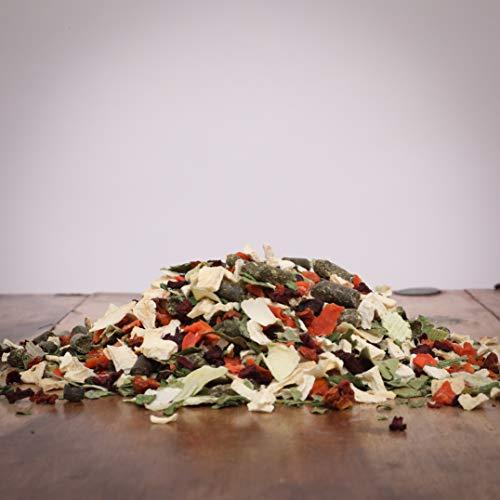 Hitzegrad® Gemüse Mischung Fit & Gesund Ballaststoffe, 1000 g - Ergänzung zum Barf-Menü in Premiumqualität