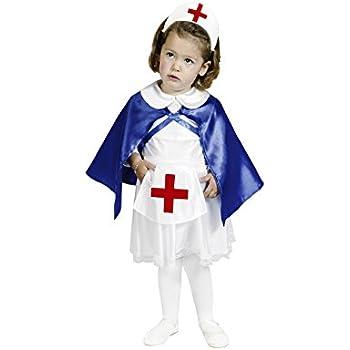 Disfraz de Enfermera 1-2 años para niña: Amazon.es: Juguetes y juegos