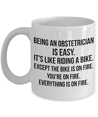 Obstetra, obstetra obstetra, obstetra taza, obstetricia obstetricia, obstetricia taza, médico obstetra, estudiante de medicina, obstetra divertida taza de café regalo para hombres mujeres