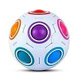 ThinkMax Magic Ball Rainbow , Rompecabezas 3D de Bolas de Juguete para niños (1 Piezas)