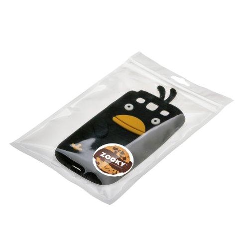 Zooky® nero silicone pollo cover / case / custodia per Samsung Galaxy S3/SIII (I9300)